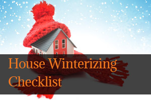House Winterizing Checklist