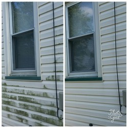 Window Cleaning Before & After