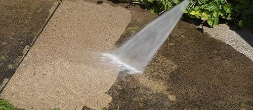 Sidewalk Pressure Washing Services